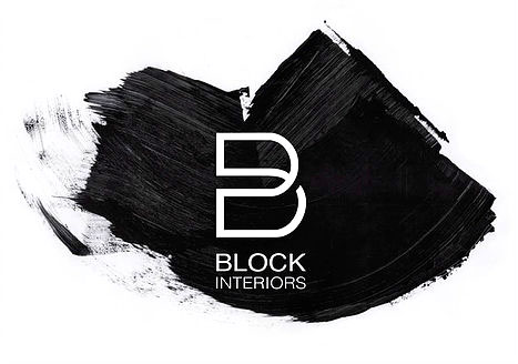 Block Interiors smudge logo